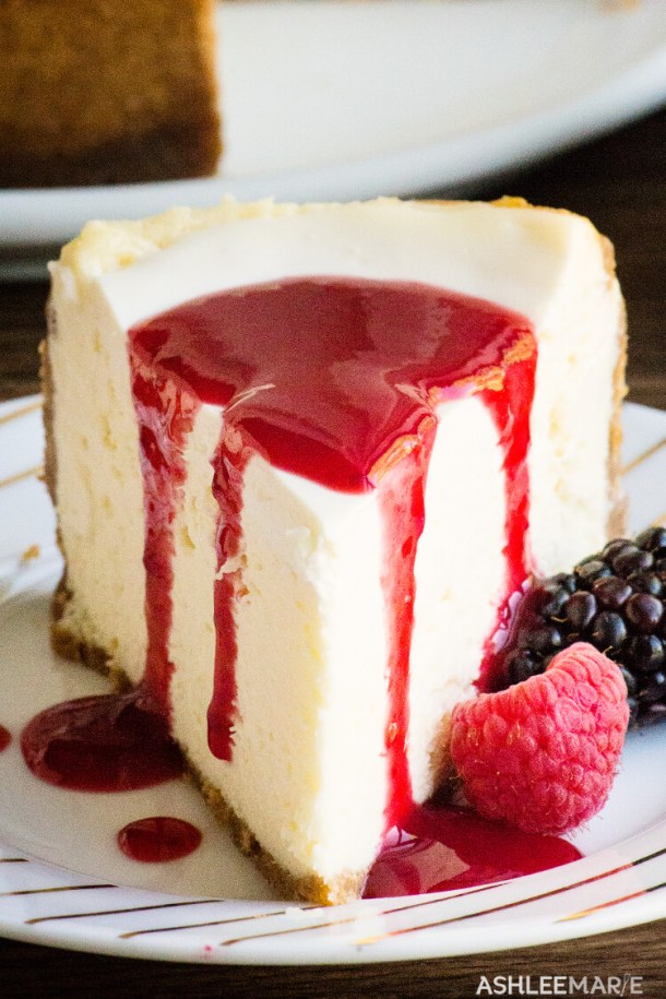 instant pot cheesecake recipe and video