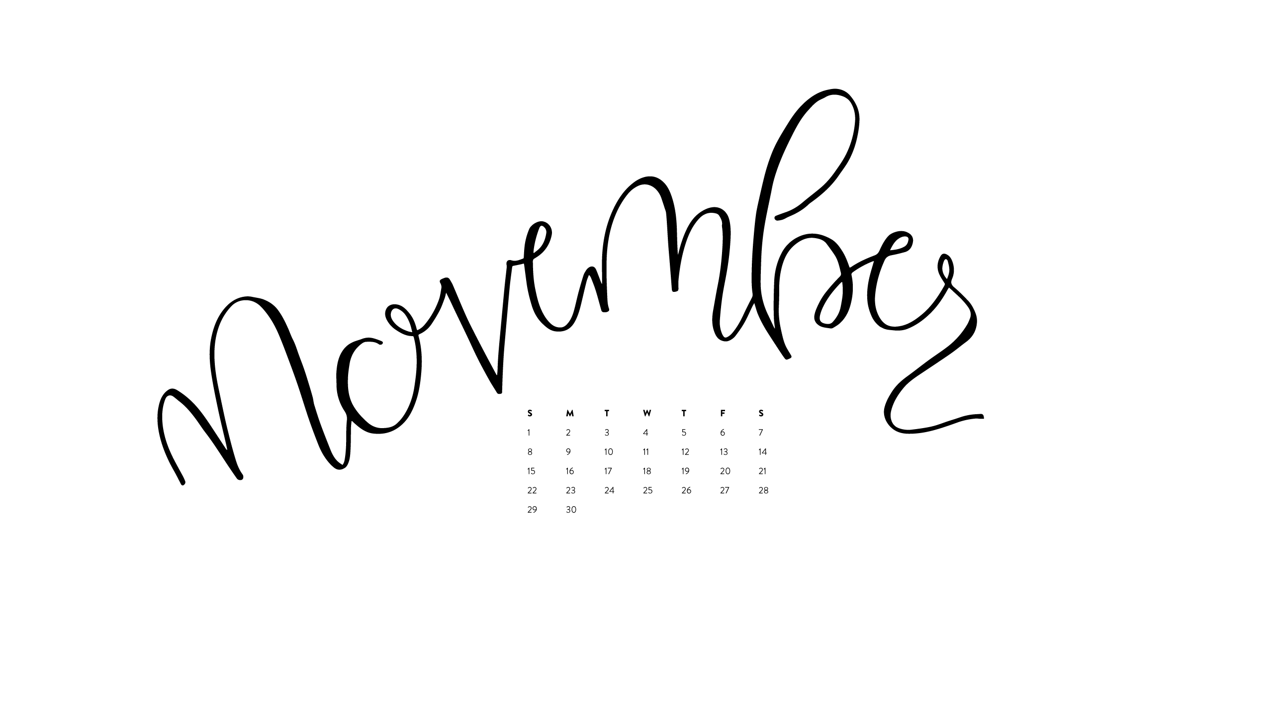 November Desktop Amp Iphone Wallpapers Ashlee Proffitt