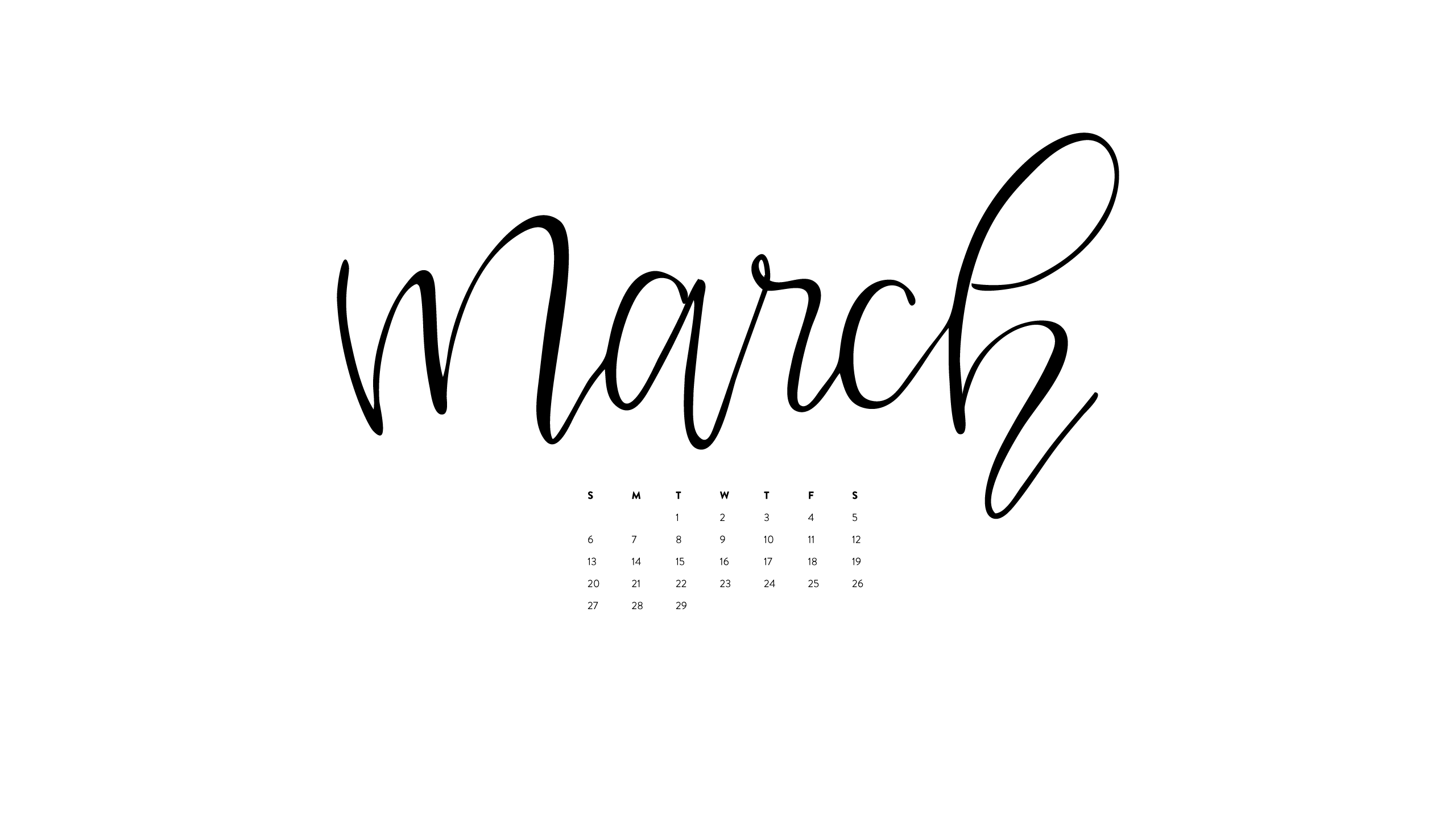 March Desktop Amp Iphone Wallpapers Ashlee Proffitt