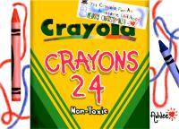 Merry Christmas Crayola