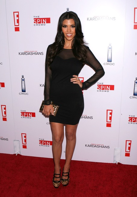 Party Outfit Kourtney Kardashian Style