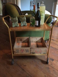 Most important bit of furniture... bar trolley