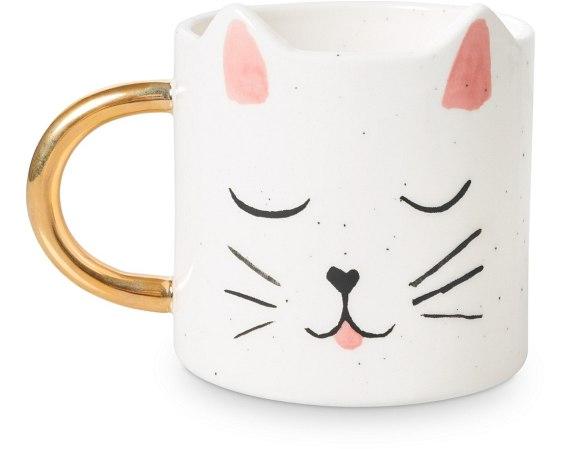 OB cat mug