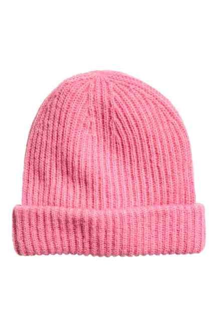 Pink H&M hat