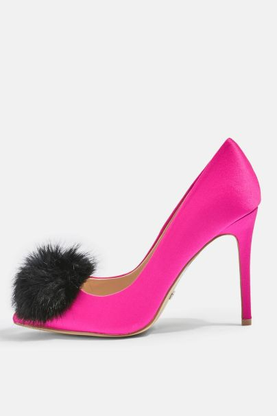 Topshop Pom Pom Shoes