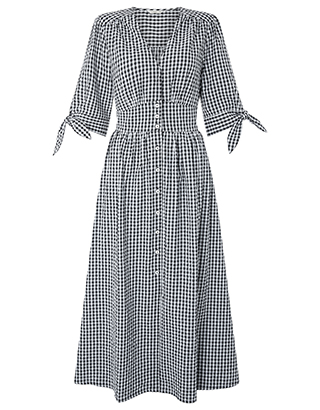 Monsoon gingham dress