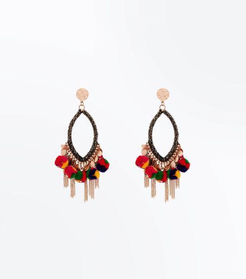 new lok pom pm earrings