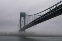 Verazzano Bridge in Fog