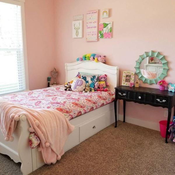 アメリカの女の子の部屋