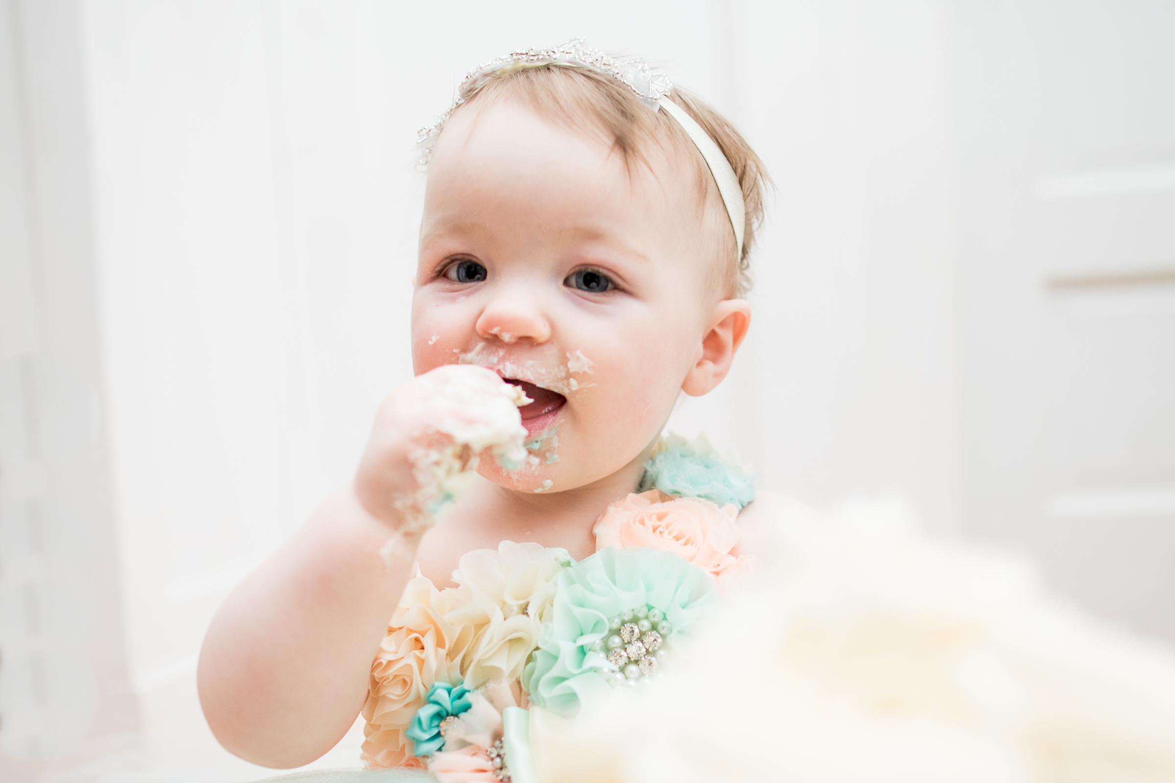 Harper Guidry 1st Birthday | Ashley Landry Photography-152