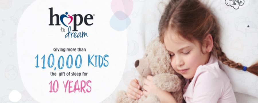 Ashley HomeStore's Hope to Dream Program Celebrates 10th Anniversary