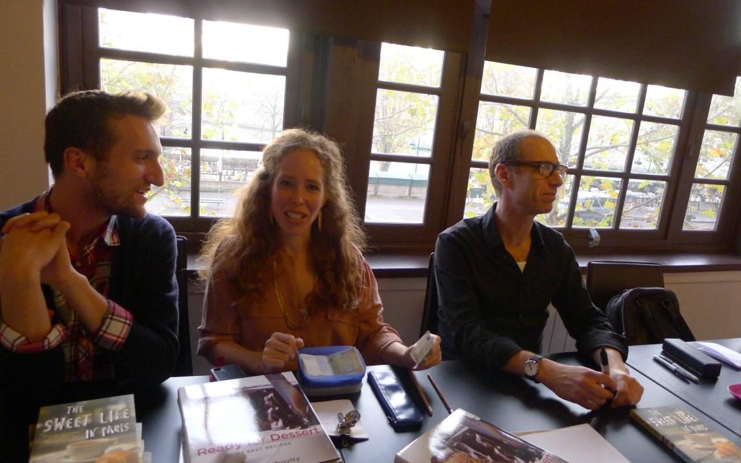 Meeting my Culinary/Literary Hero, David Lebovitz
