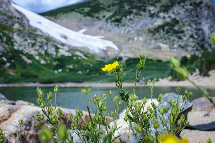 St Marys Glacier Hike Colorado