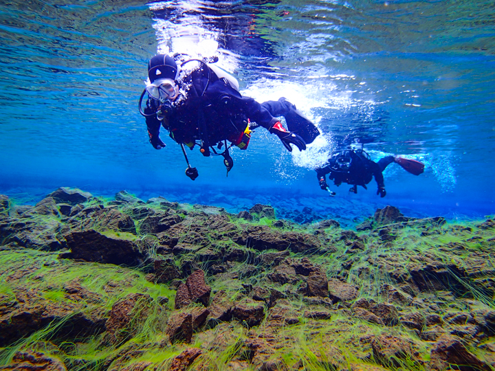Braving the Bitter Cold: Scuba Diving in Iceland