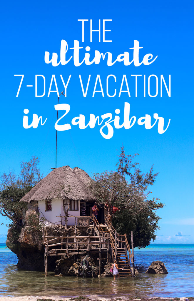 Everything you need to plan the perfect one week Zanzibar itinerary.