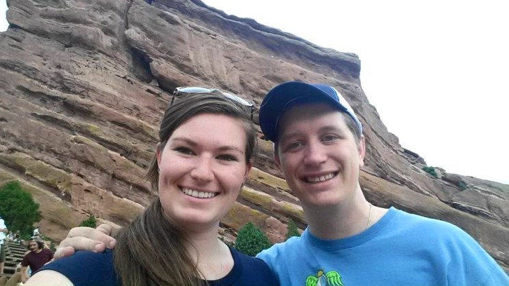 Kyle and I at Red Rocks
