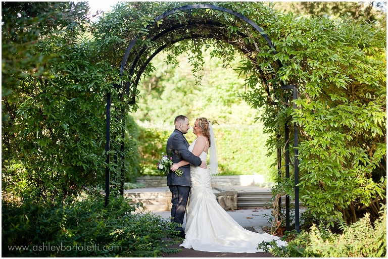 Merideth Amp Dana Morris Arboretum Wedding Ashley