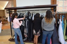 Girls picking out prom dresses, Photo: Caroline Dean