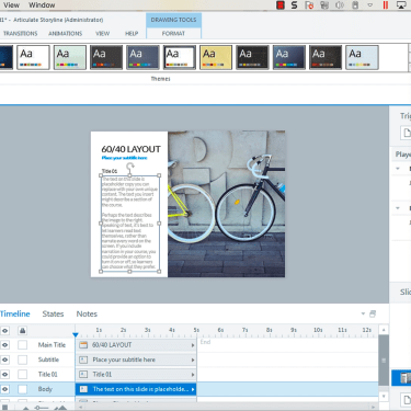 Creating or Changing a Theme Font in Articulate Storyline