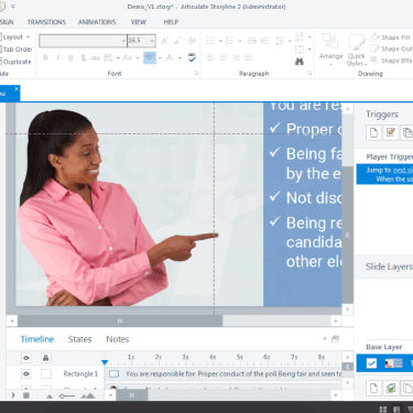 Quick Character Formatting Tips in Articulate Storyline