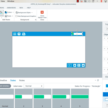 Creating a Custom User Interface in Articulate Storyline 360 – Part 3