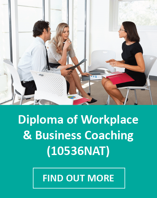 Diploma of Workplace and Business Coaching - green