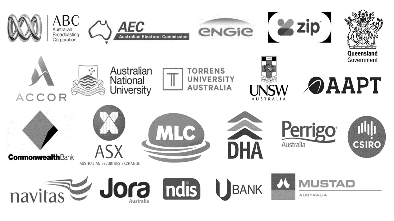 Organisations worked with