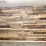 Pallet Wood Accent Wall Ashley Diann Designs