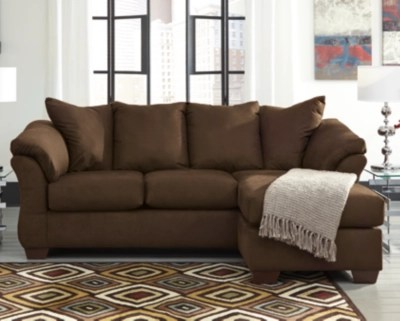 darcy sofa chaise cafe large