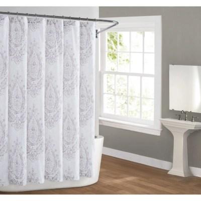 purple shower curtains ashley