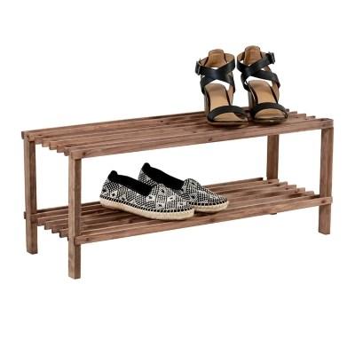 2 tier shoe rack 8 pair