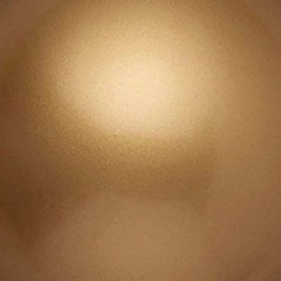 globe ball finial soft gold 28