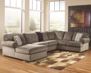 Sectional Sofas   Ashley Furniture HomeStore     large Jessa Place 3 Piece Sectional  Dune  rollover