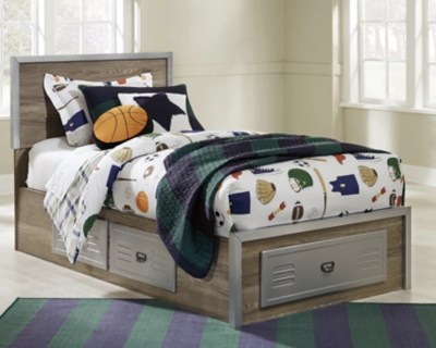mckeeth twin panel storage bed