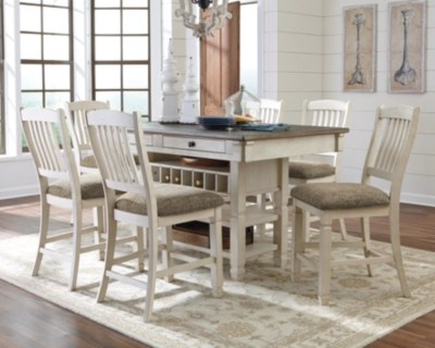 large bolanburg 5 piece counter height dining set rollover