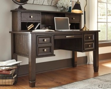 Townser Home Office Desk with Hutch   Ashley Furniture HomeStore Townser Home Office Desk with Hutch    large