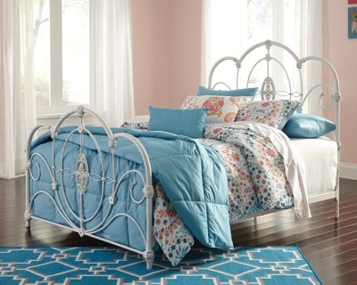Loriday Twin Metal Bed Ashley Furniture HomeStore