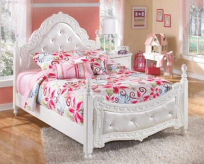 Exquisite Full Poster Bed Ashley Furniture HomeStore