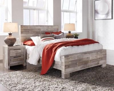 Effie Queen Panel Bed Ashley Furniture Homestore