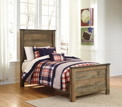 Trinell Twin Panel Bed Ashley Furniture HomeStore