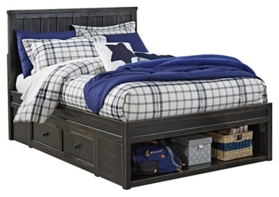 Jaysom Twin Panel Bed with Storage   Ashley Furniture HomeStore Images  Jaysom Twin Panel Bed
