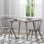 Delta Children Windsor Kids Wood Table And 2 Chair Set Ashley Furniture Homestore