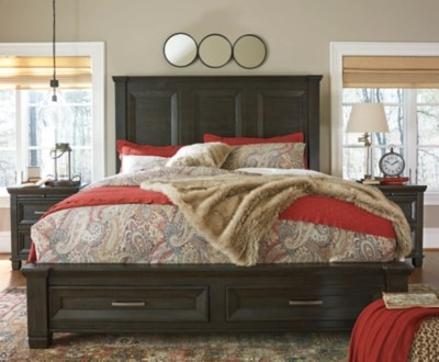 Townser King Panel Bed With Storage Ashley Furniture HomeStore