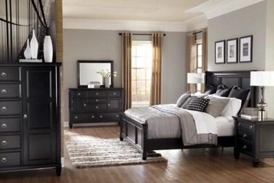 greensburg queen panel bed