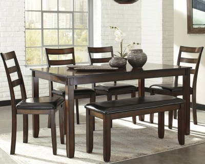 coviar dining room table and chairs with bench set of 6 large