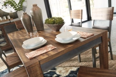Harlynx Dining Room Table Ashley Furniture HomeStore