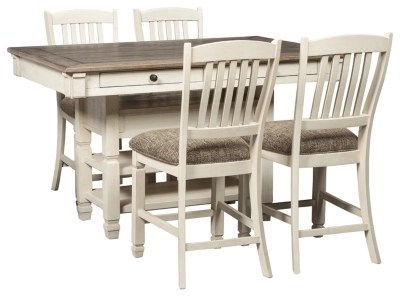 bolanburg 5 piece counter height dining set