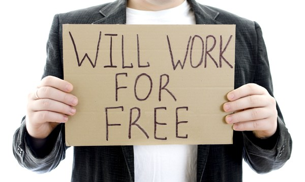 work for free