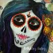 Dia De Los Muertos close up