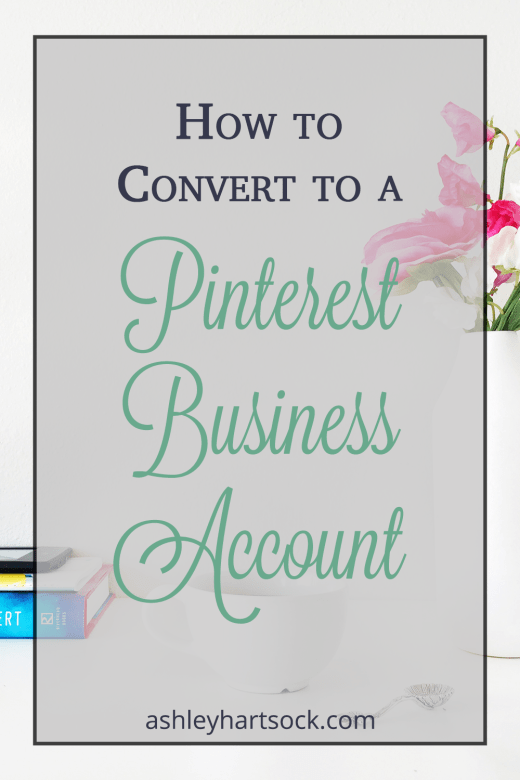How to Convert to Pinterest Business Account